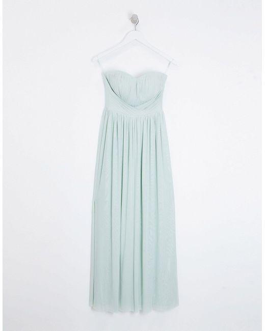 Светло-зеленое Платье Макси -зеленый Lipsy, цвет: Green