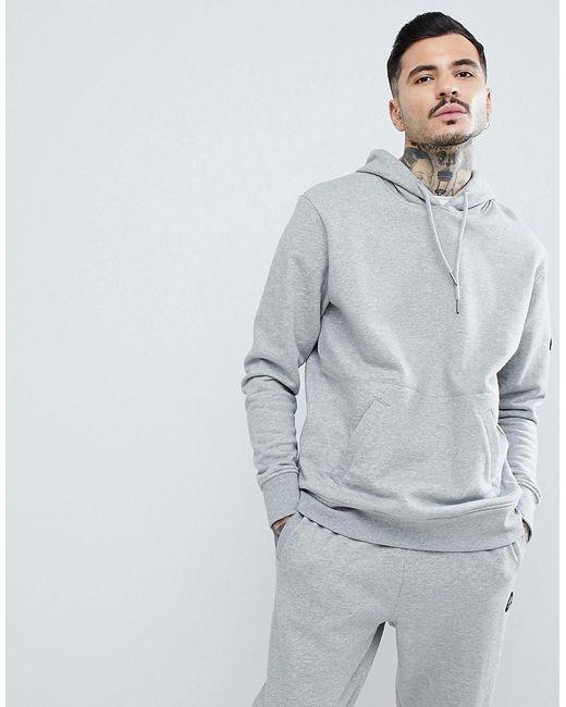 Penfield - Gray Westridge Logo Hoodie In Grey Marl for Men - Lyst