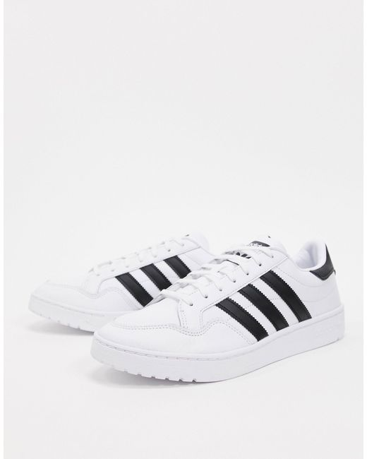 Adidas White 'Superstar' Sneakers