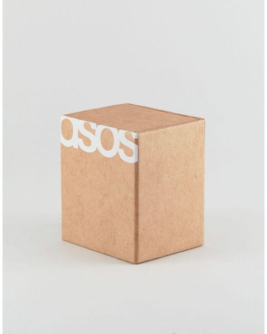 Черные Классические Часы С Лакированным Ремешком ASOS для него, цвет: Black