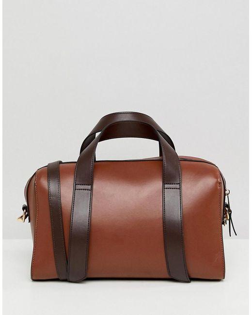 ASOS - Brown Bowler Bag - Lyst
