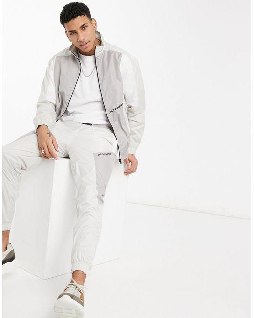 Серый Спортивный Костюм В Стиле Ретро Intelligence Jack & Jones для него, цвет: Gray