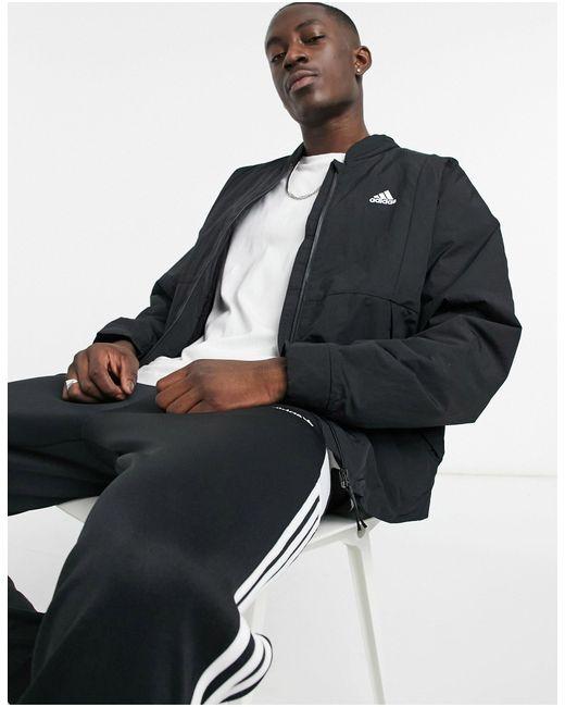 Черная Куртка -черный Цвет Adidas для него, цвет: Black