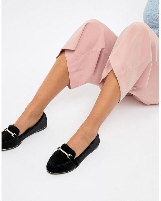 ASOS Maderia - Platte Schoenen in het Black