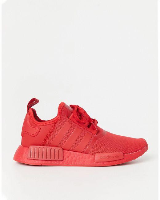 NMD_R1 - Baskets - Triple rouge Adidas Originals pour homme en coloris Red