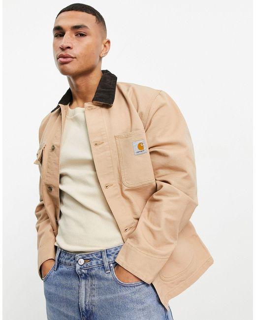 Коричневое Пальто Michigan-коричневый Цвет Carhartt WIP для него, цвет: Brown
