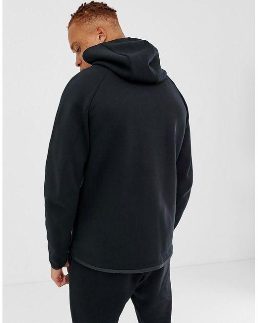 2022f87bd Nike Fullzip Tech Fleece Hoodie In Black in Black for Men - Lyst