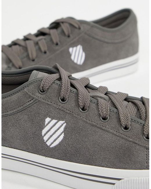 4f2abb37568 Lyst K Swiss Bridgeport Ii Sneakers In Ante in in in Gris for Hombre 34ddc2