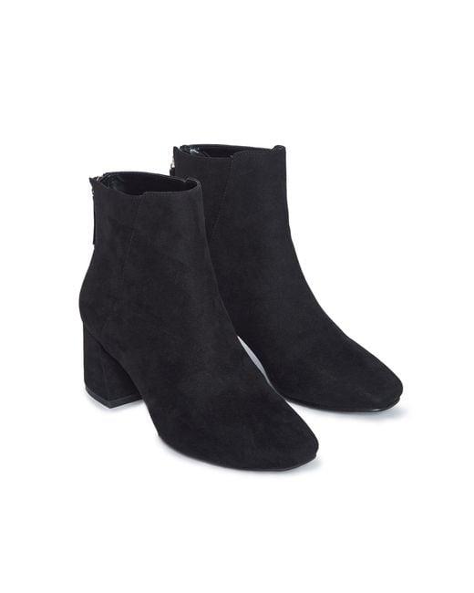 Черные Ботильоны Для Широкой Стопы -черный Цвет Miss Selfridge, цвет: Black