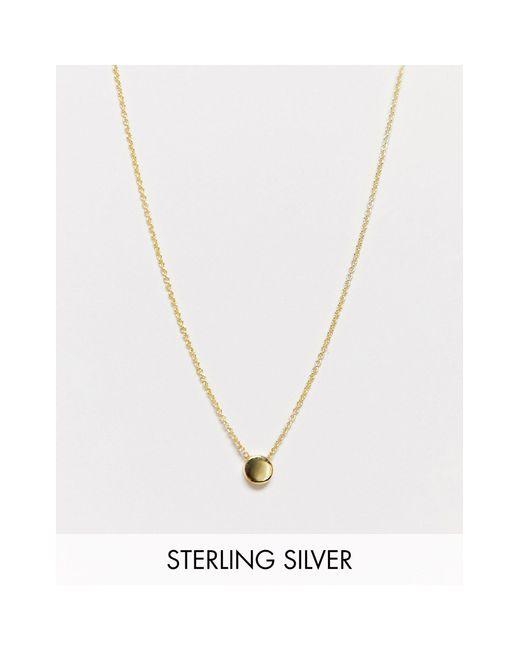 Позолоченное Серебряное Ожерелье С Камнем -золотой & Other Stories, цвет: Multicolor