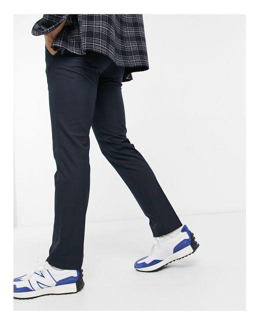 Pantalon habillé coupe skinny French Connection pour homme en coloris Blue