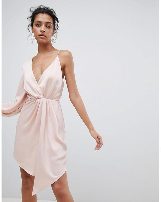 C/meo Collective - Pink Asymmetric Dress - Lyst
