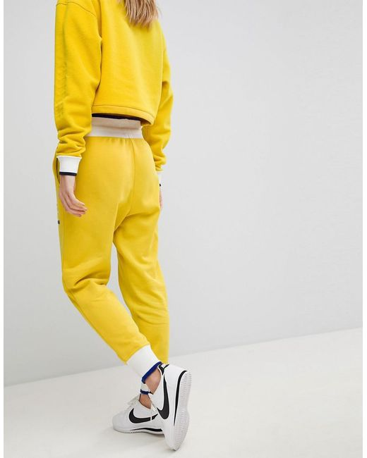 Women's To In Exclusive Asos Yellow Archive Joggers XukPZi
