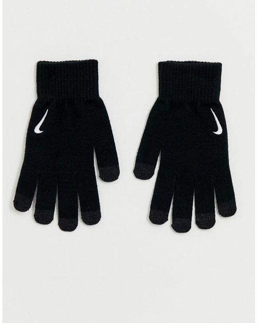 Nike - Black Gants techniques en maille for Men - Lyst