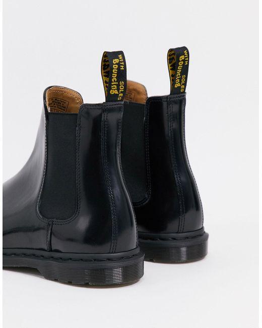 Черные Ботинки Челси -черный Dr. Martens для него, цвет: Black