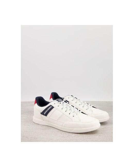 Jack & Jones – Sneaker in White für Herren