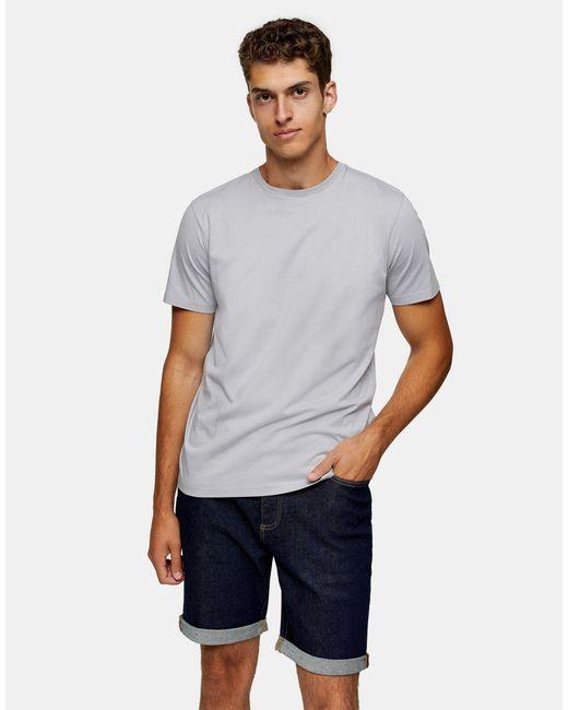 Topman Gray Classic T-shirt for men