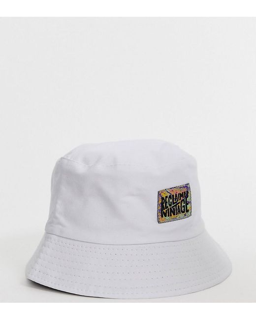 Bob unisexe griffé - Blanc Reclaimed (vintage) pour homme en coloris White