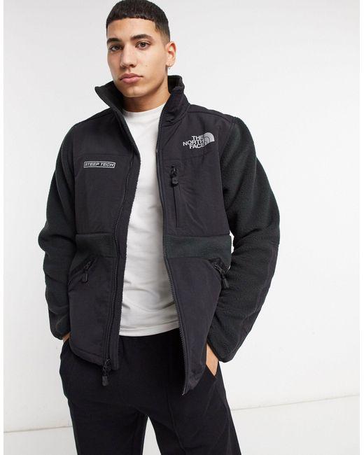 Черная Флисовая Куртка На Молнии Steep Tech-черный The North Face для него, цвет: Black