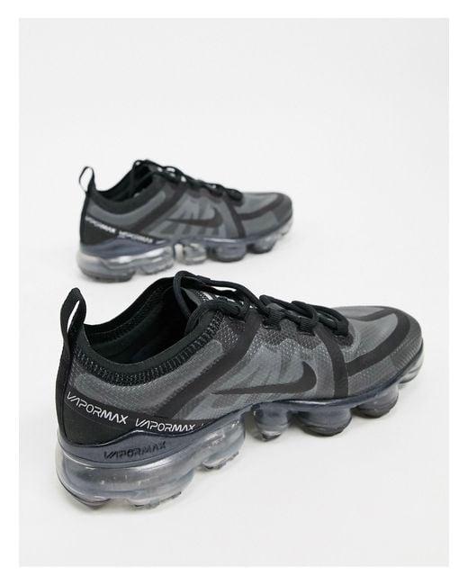 Air Vapormax - Baskets Caoutchouc Nike en coloris Noir - Lyst