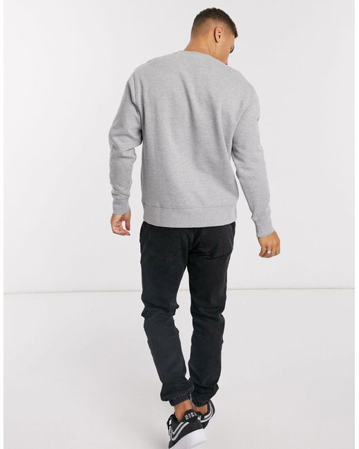 Серый Свитшот Topman для него, цвет: Gray