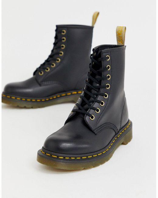 Черные Классические Ботильоны Из Веган-кожи 1460-черный Цвет Dr. Martens, цвет: Black