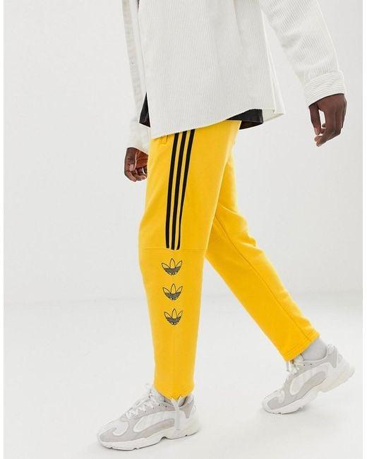 ensemble adidas jaune homme