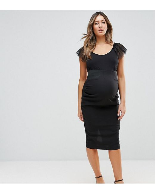 5be6b3ade3 ASOS - Black Tailored Workwear Skirt - Lyst ...