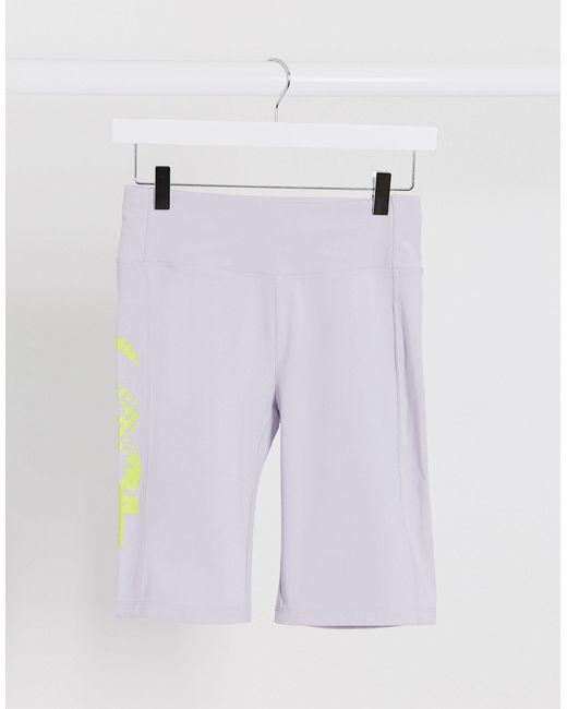Леггинсы-шорты Для Йоги С Логотипом -розовый Цвет ASOS 4505, цвет: Pink