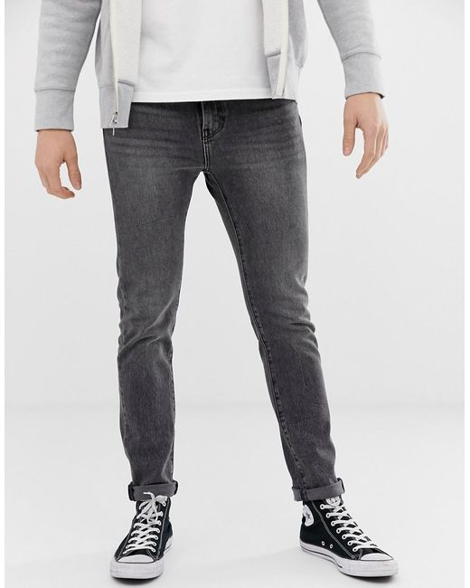 510 - Jean skinny à taille standard - Gris délavé luther 4 way Levi's pour homme en coloris Gray