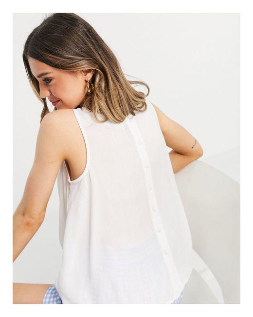 Top color marfil ASOS de color White