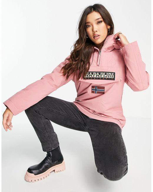 Napapijri Pink Rainforest Winter Jacket
