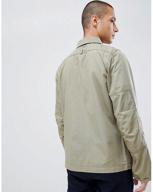 Rackam Khakifarbene Hemdjacke