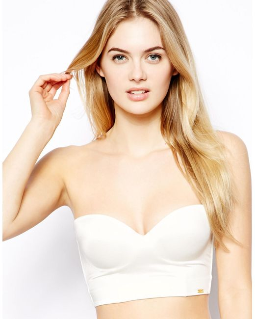 Ultimo Miracle Low Back Strapless Bra In White