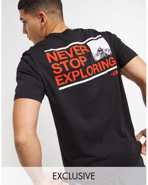 Черная Футболка – Эксклюзивно На Asos-черный The North Face для него, цвет: Black