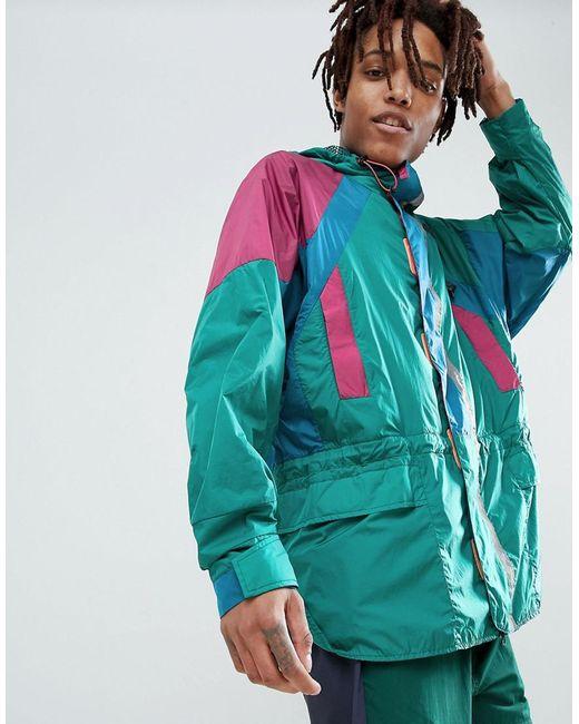 bd549dbb Adidas Originals - Atric Retro Hooded Jacket In Green Cd6809 for Men - Lyst  ...