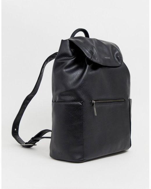 Черный Рюкзак Matt & Nat для него, цвет: Multicolor