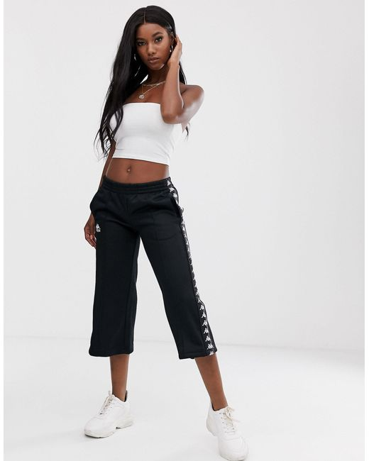 Ammis Authentic - Pantaloni cropped di Kappa in Black