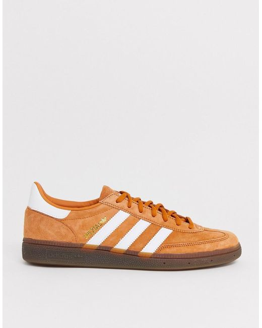 huge discount pretty cool new arrival Handball Spezial Trainers In Copper With Gum Sole