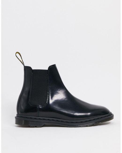 Черные Ботинки Челси -черный Цвет Dr. Martens для него, цвет: Black