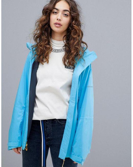 Didriksons Blue Didriksons Edge Women's Jacket