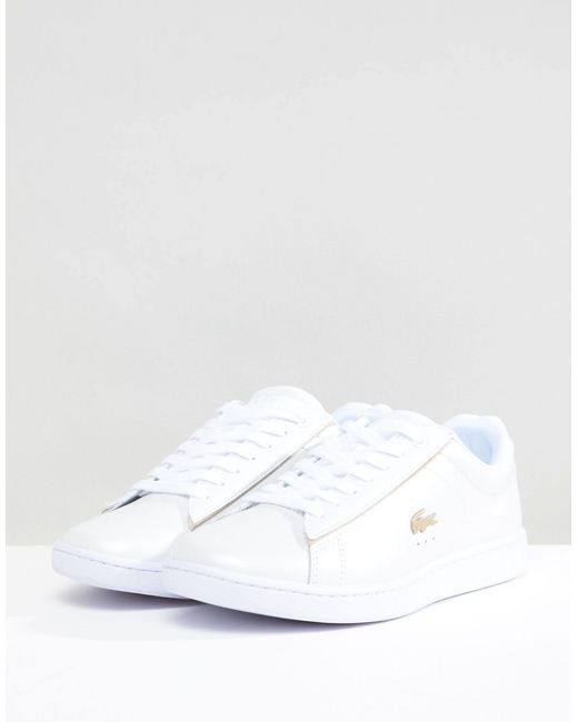Lacoste Canvas Carnaby Evo 118 Trainers