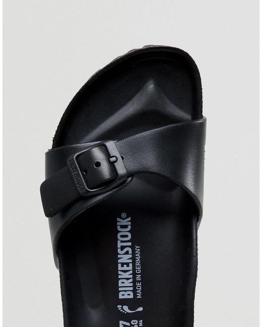 Черные Шлепанцы Madrid Eva-черный Birkenstock, цвет: Black