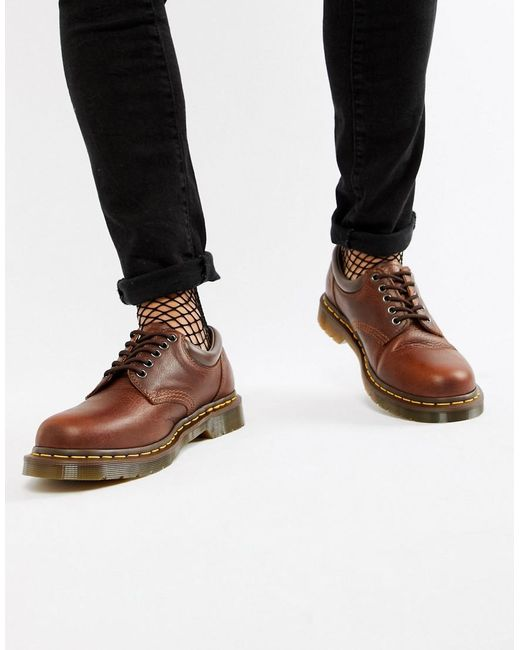 Dr. Martens 8053 - Braune Schuhe in Brown für Herren
