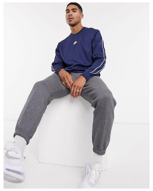 Темно-синий Свитшот С Фирменной Лентой Repeat Pack Nike для него, цвет: Blue