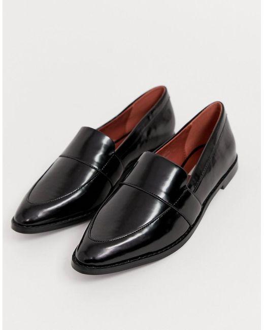 Matt & Nat Platte Loafers In Zwart in het Black