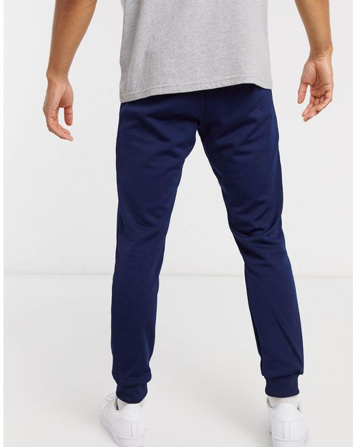 Темно-синие Джоггеры Скинни -темно-синий Adidas Originals для него, цвет: Blue