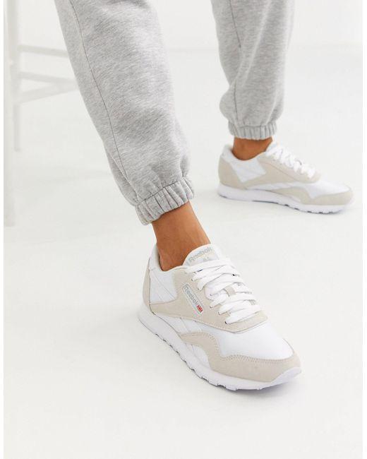Reebok Zapatillas de mujer de color blanco