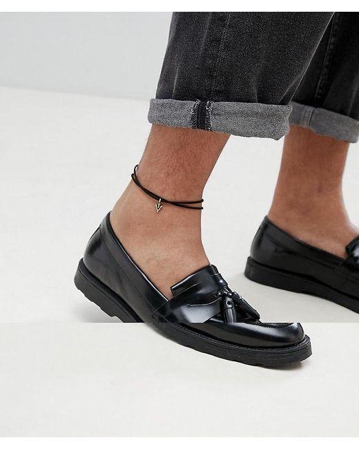 ASOS - Black Design Plus Anklet 2 Pack With Burnished Gold Arrow - Lyst