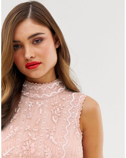 Frock & Frill - Vestito lungo di Frock and Frill in Pink